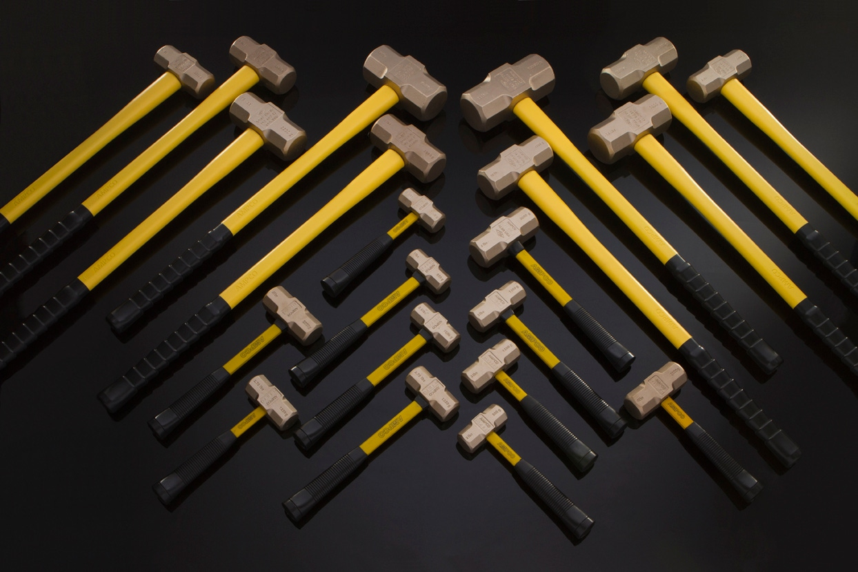 10 x 12 mm Non-Sparking Corrosion Resistant Non-Magnetic Ampco Safety Tools WO-10X12 Double Open Wrench